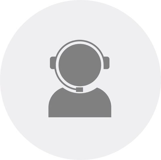 A call-center agent icon